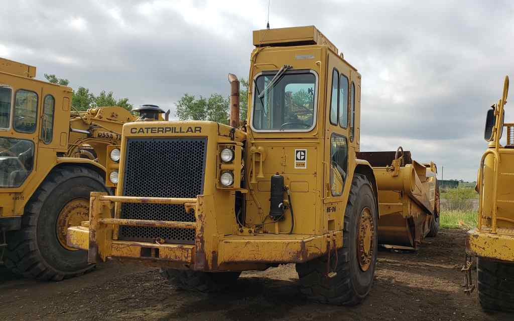 Large image for 1983 Caterpiller 627B converted to 621